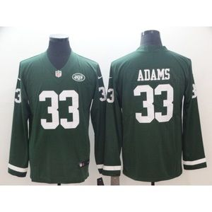 New York Jets Jamal Adams Long Sleeve Jersey